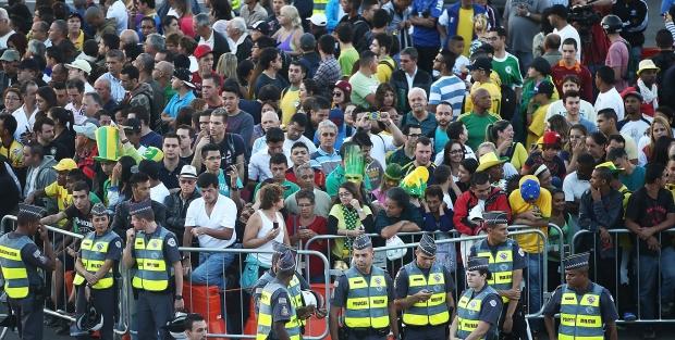 Чемпионат мира стал причиной возникновения пробок в Сан-Паулу