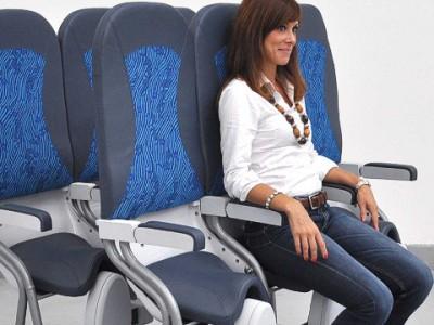 вертикальными сидениями оборудуют самолеты