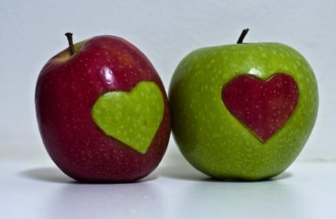 Яблоко – залог хорошего секса