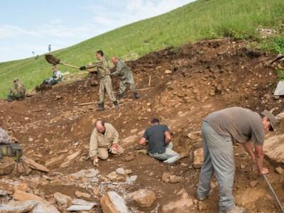 Древние рептилии были найдены на раскопках в Сибири
