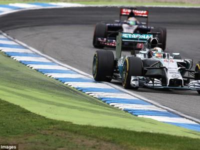 Льюис Хэмилтон смог подняться на Гран-при Германии с 20 на 3 место