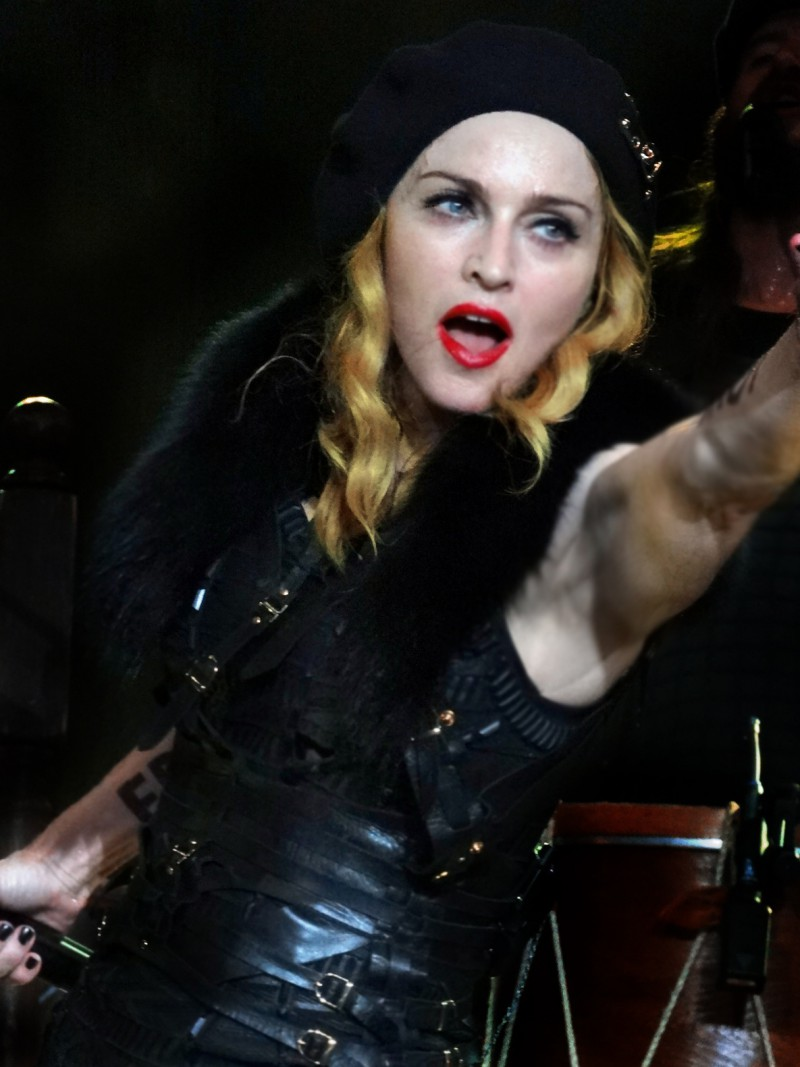 Неожиданный порыв Мадонны