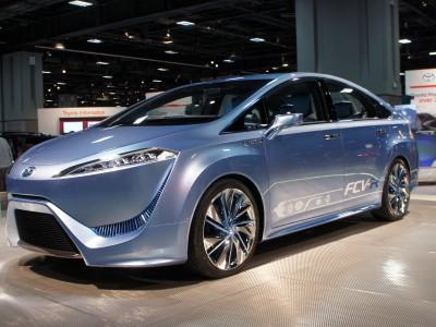 Автомобиль будущего: Toyota FCV