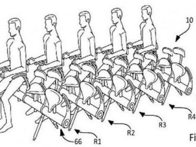Велосипедные сидения для самолетов от Airbus