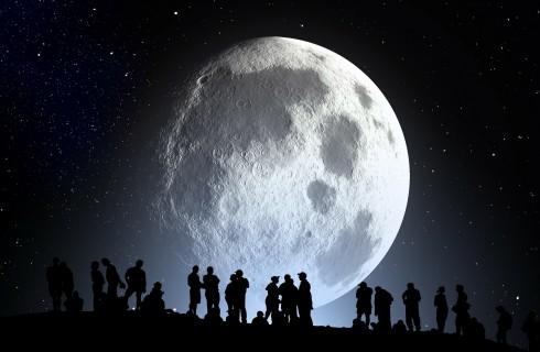 Астронавтов загонят в пещеры Луны