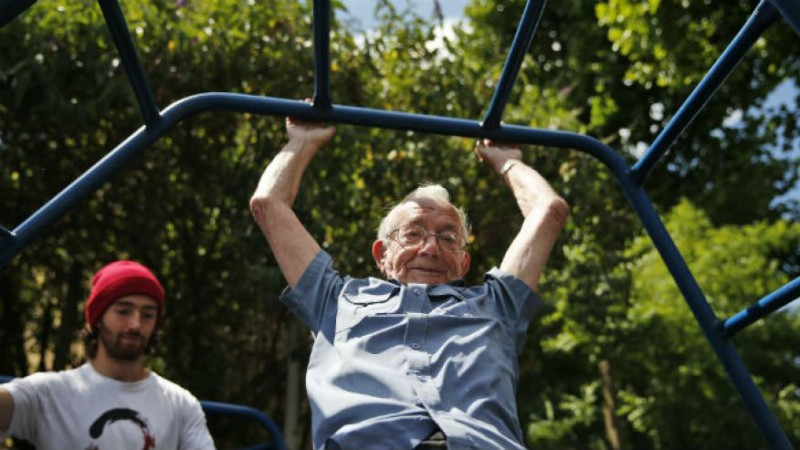 Паркур для пенсионера