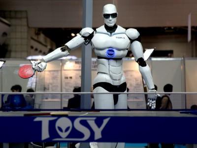 Роботы будущего уже играют в настольный теннис