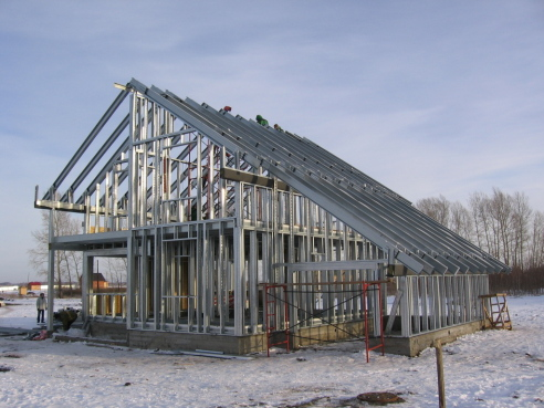 Строительство быстровозводимых зданий из ЛМК