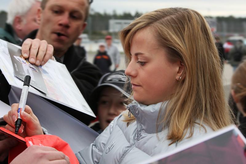 Сьюзи Вольфф – первая женщина в Формуле-1
