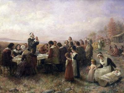 Плимутская колония: День Благодарения