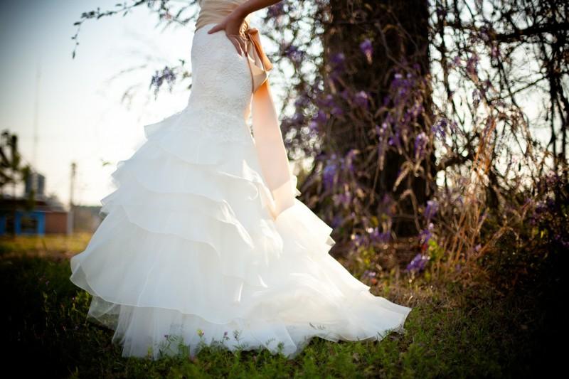 Несколько слов о современном свадебном платье