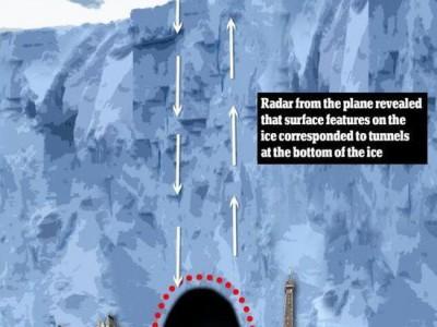 Туннель найден в Антарктиде