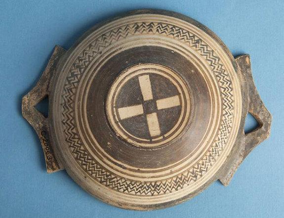 Греки увлекались зигзагами