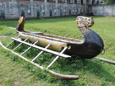 Одна из лодок Сергея Токарева