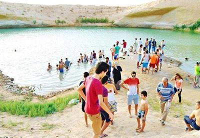 Озеро в Тунисе