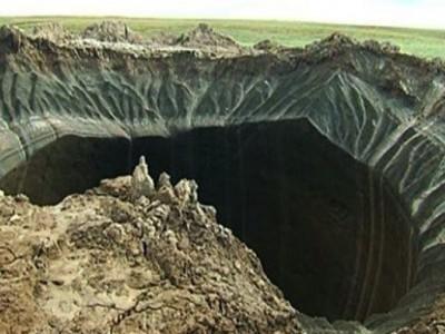 Кратеры в Сибири