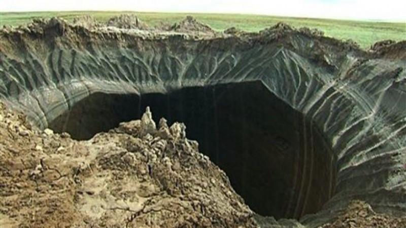 Тайна кратера на крае света раскрыта