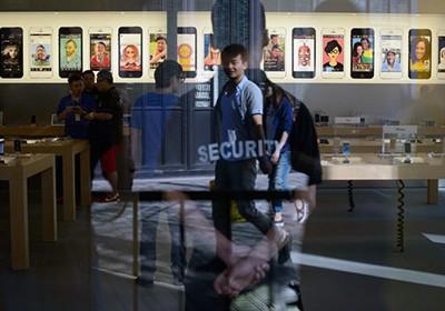 Apple не покупают в Китае