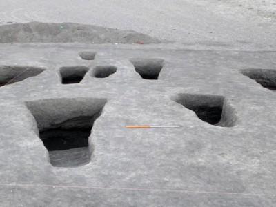 Древнее кладбище в Египте