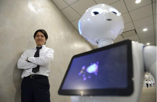 Робот с человеческими эмоциями появится в продаже