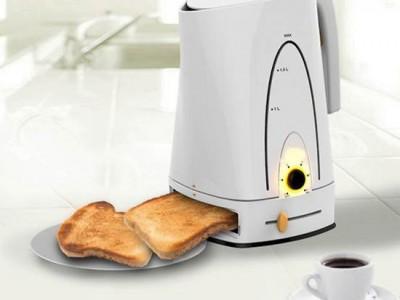 Кофе-машина с тостером