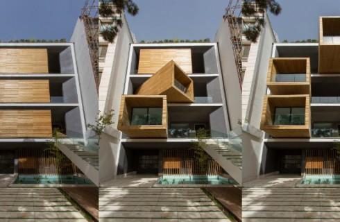 Дом-трансформер появился в Тегеране