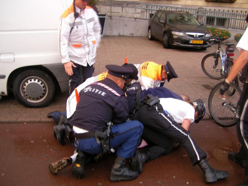 Полиция гоняется за призраком