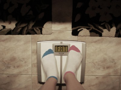 С лишним весом необходимо бороться