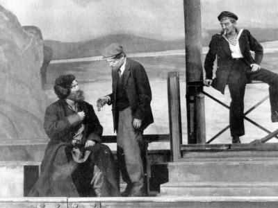 «Бронепоезд 14-69». Сцена из спектакля, 1927 год