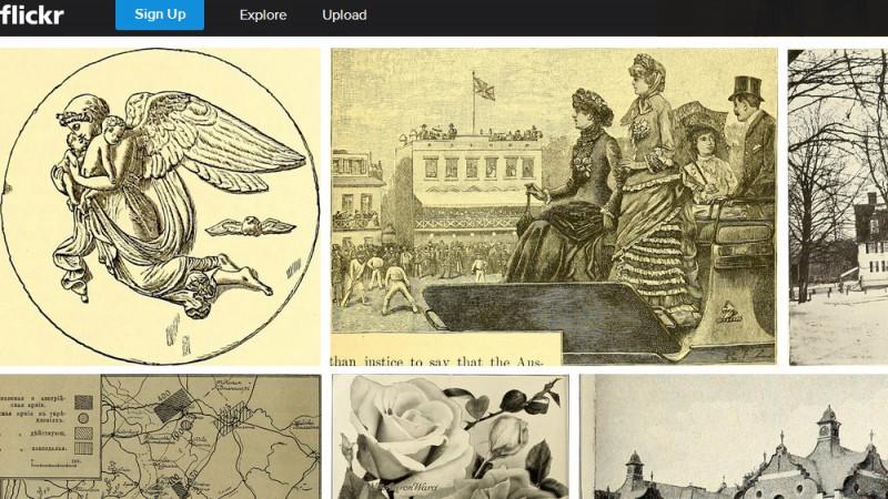 Flickr выложит в сеть изображения книг