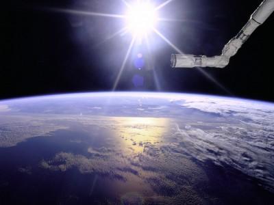 часть населения в космос