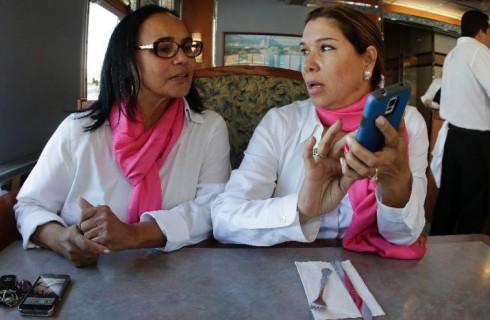 Приложение помогает женщинам найти такси