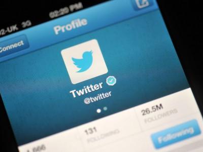 Регистрация Twitter