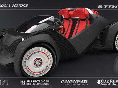 Машину напечатают на 3D принтере