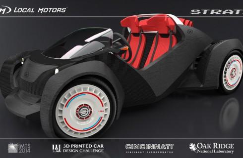 В США собираются напечатать автомобиль на 3D-принтере