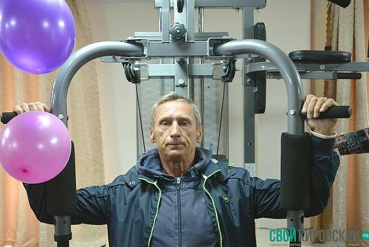 Спортзал для кировских инвалидов