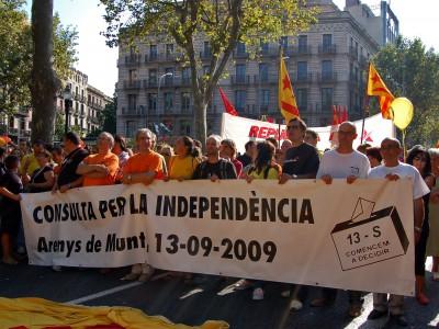 Проведение референдума о независимости Каталонии