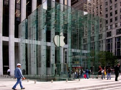 Продажи акций Apple