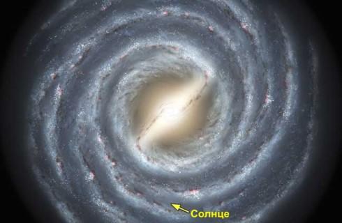 Темная материя в Млечном пути удивила своим весом