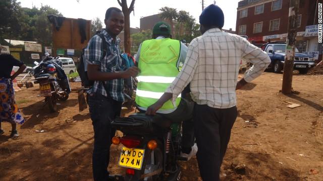 Куртка спасет мотоциклистов