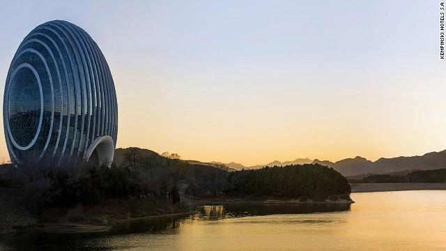Удивительный отель появился в Китае