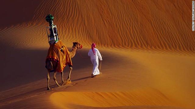 Google принимает в свой штат верблюда