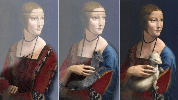 «Дама с горностаем» 5 веков хранила тайну