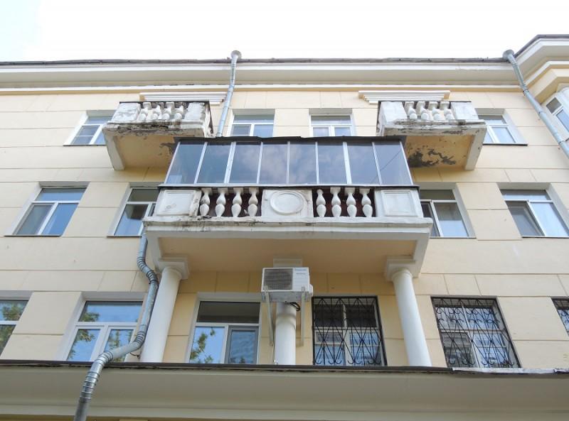 Зимние балконы
