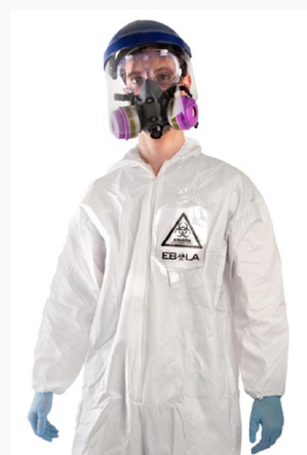 На Хэллоуин люди оденутся в костюмы вируса Эболы