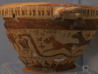 Древнегреческий сосуд