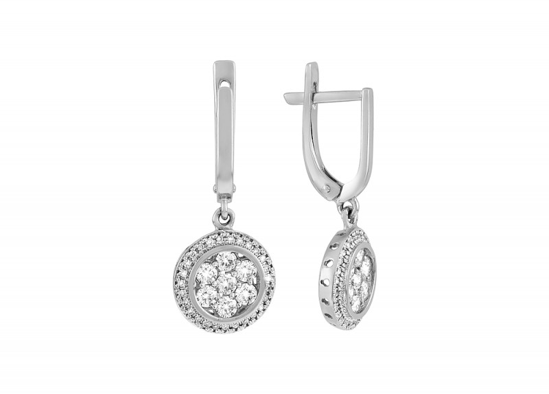 Плавающие бриллианты – создание восхитительного образа