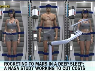 Космонавтов в сон погрузят в NASA