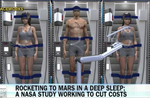 Космонавтов усыпят на 6 месяцев