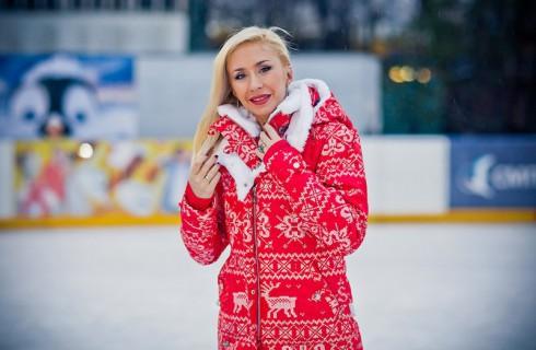 Открытие нового сезона школы фигурного катания Анастасии Гребенкиной